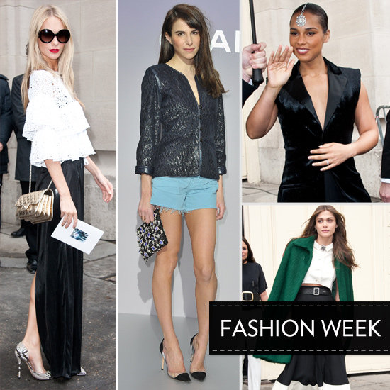 2012 A/W Paris Fashion Week: See Chanel's Front Row!