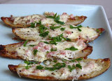 Carbonara Potato Skins