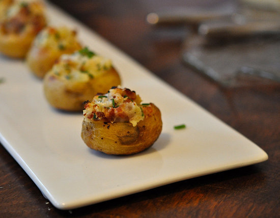 Bite-Size Twice-Baked Potatoes