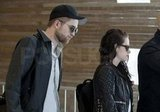 Robert Pattinson and Kristen Stewart left Paris together.