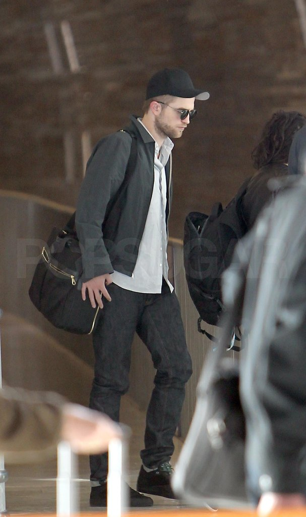 Robert Pattinson left Paris.