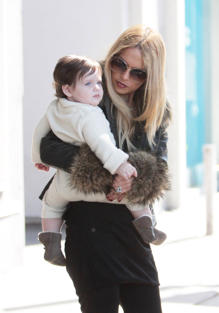 Skyler Berman got a lift from Rachel Zoe.