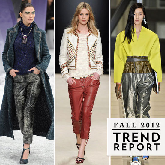 The Top Fall Trends From Paris Fashion Week