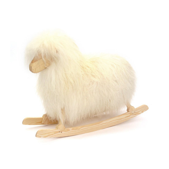 Danish Crafts Rocking Sheep ($432)