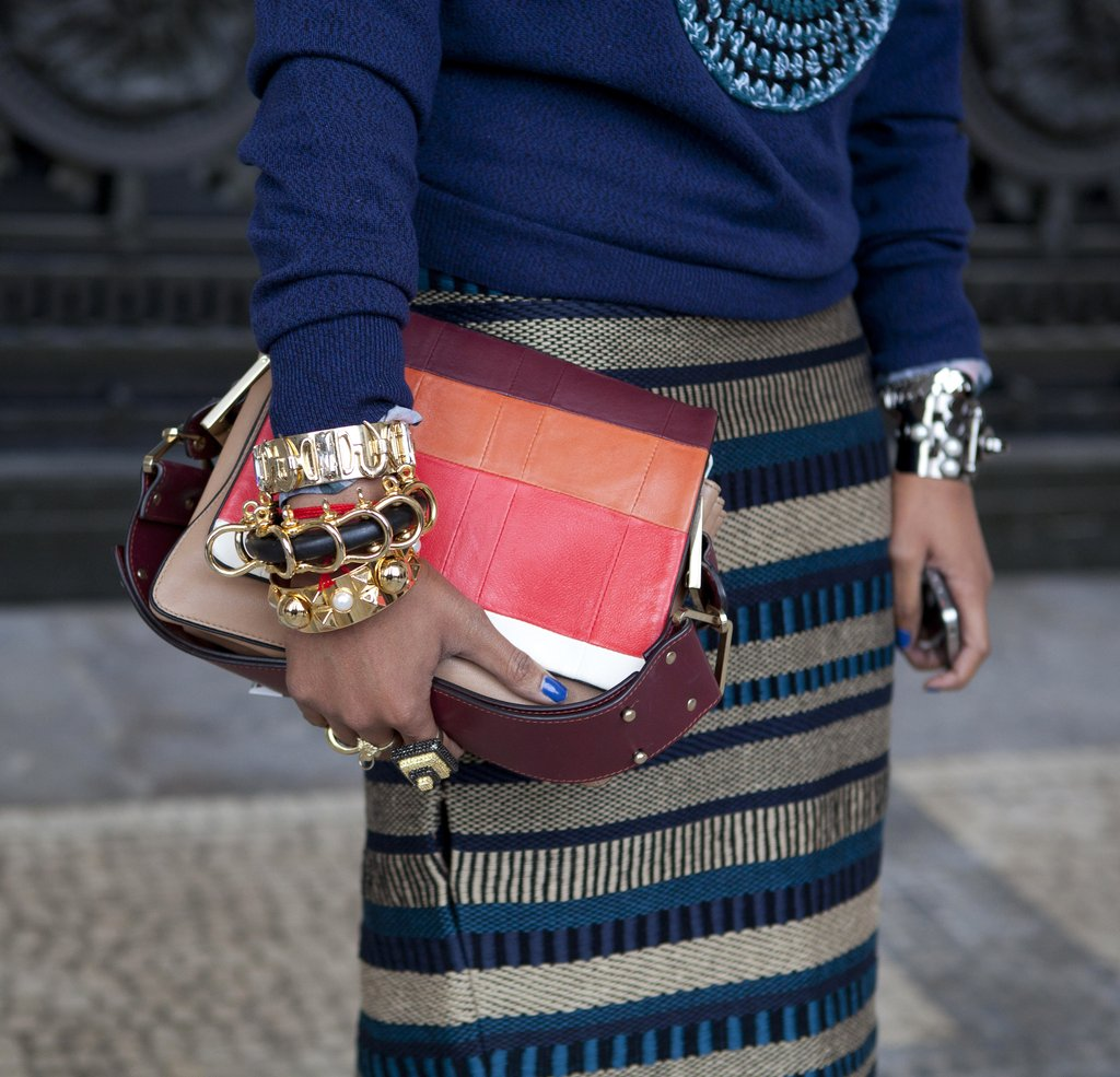 Paris Fashion Week Street Style Shoes Accessories Fall 2012 Popsugar Fashion