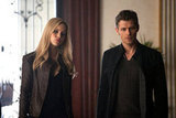 Claire Holt as Rebekah and Joseph Morgan as Klaus in The Vampire Diaries. Photo courtesy of The CW