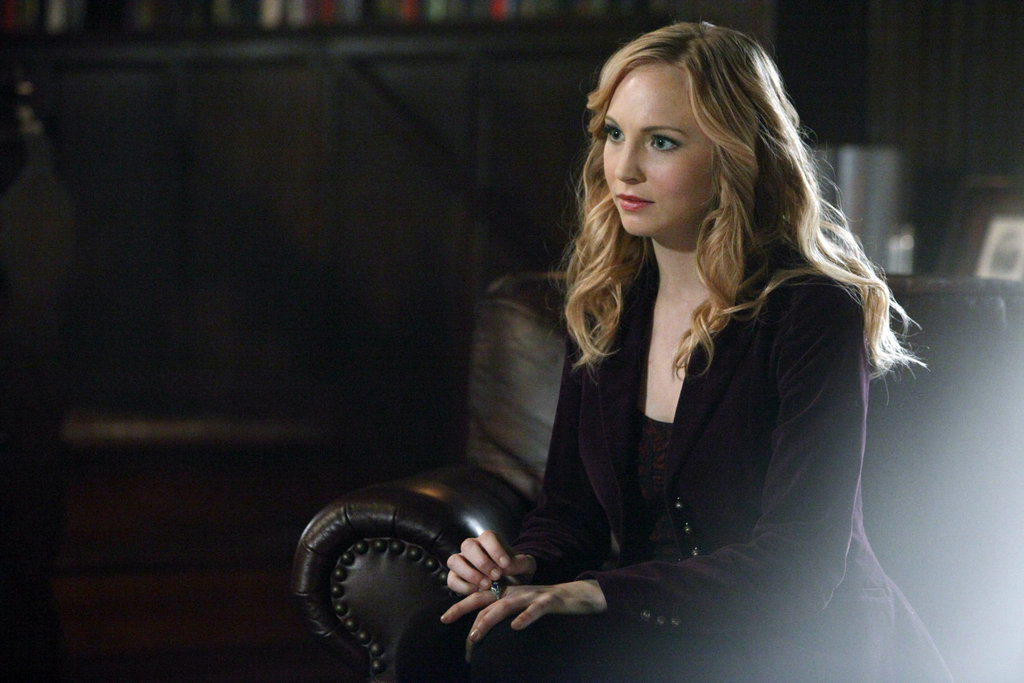 Candice Accola as Caroline in The Vampire Diaries.  Photo courtesy of The CW