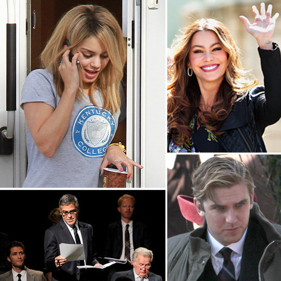 Vanessa Hudgens, George Clooney, and More Stars on Set!