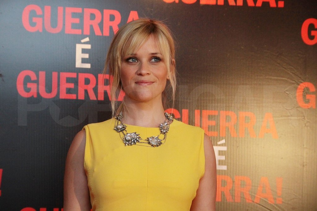 Reese Witherspoon promoted This Means War.