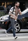 Shia LaBeouf went for an LA walk.