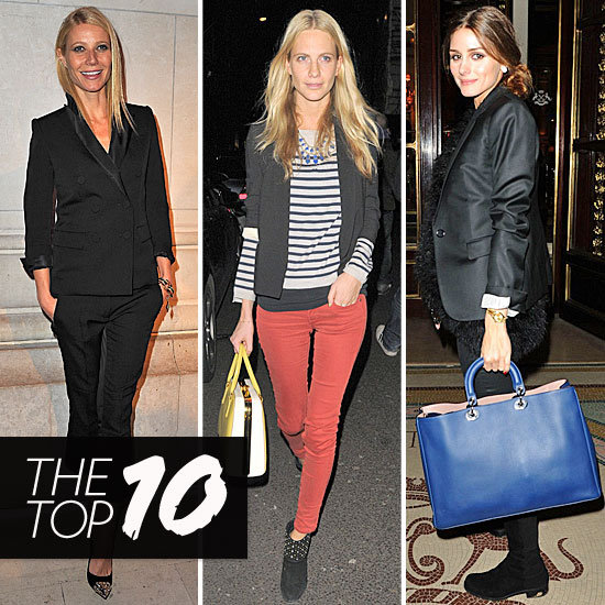 Fab's Top 10 Celebrity Looks of the Week — Gwyneth, Olivia, Poppy, and More!