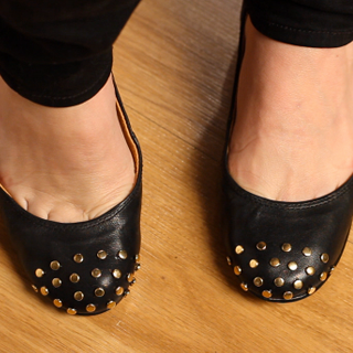 DIY Yourself a Pair of Studded Ballet Flats: Watch Our Easy, Step-by-Step Video And Learn How