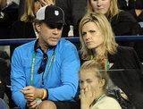 Will Ferrell was in Indian Wells.