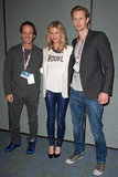 Brooklyn Decker with Alexander Skarsgard at WonderCon.