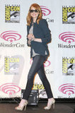Emma Stone at The Amazing Spider-Man panel at WonderCon.
