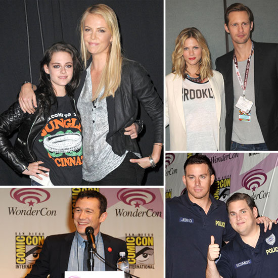 Charlize, Jonah, Kristen, Alexander, and More Make Up a Star-Studded WonderCon Weekend