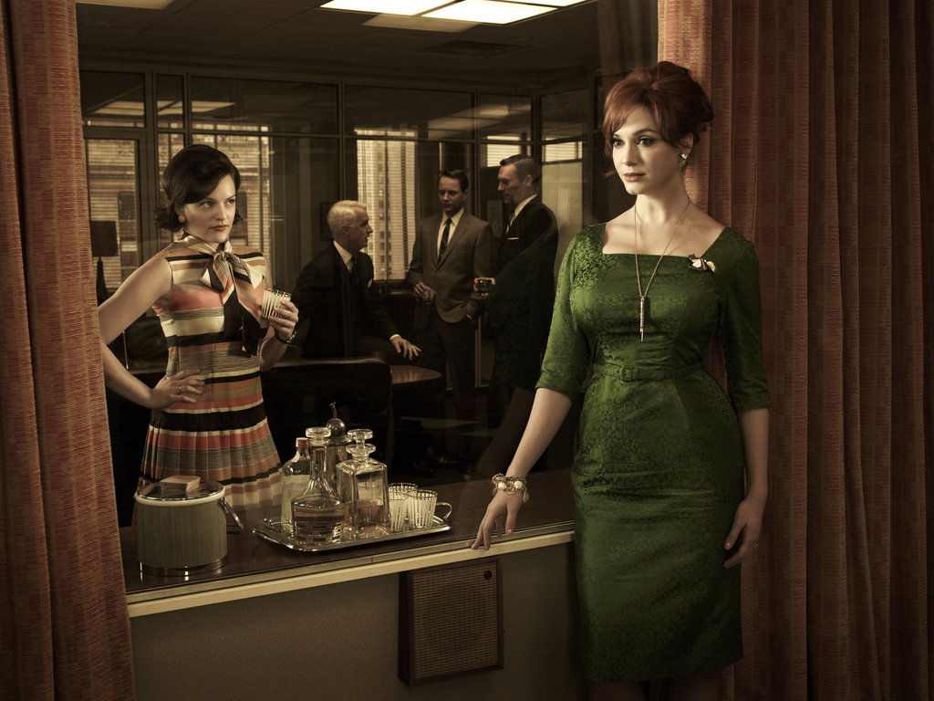 Peggy Olson and Joan Harris