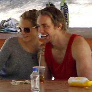 Kristen Bell and Dax Shepard PDA at Griffith Park Pictures