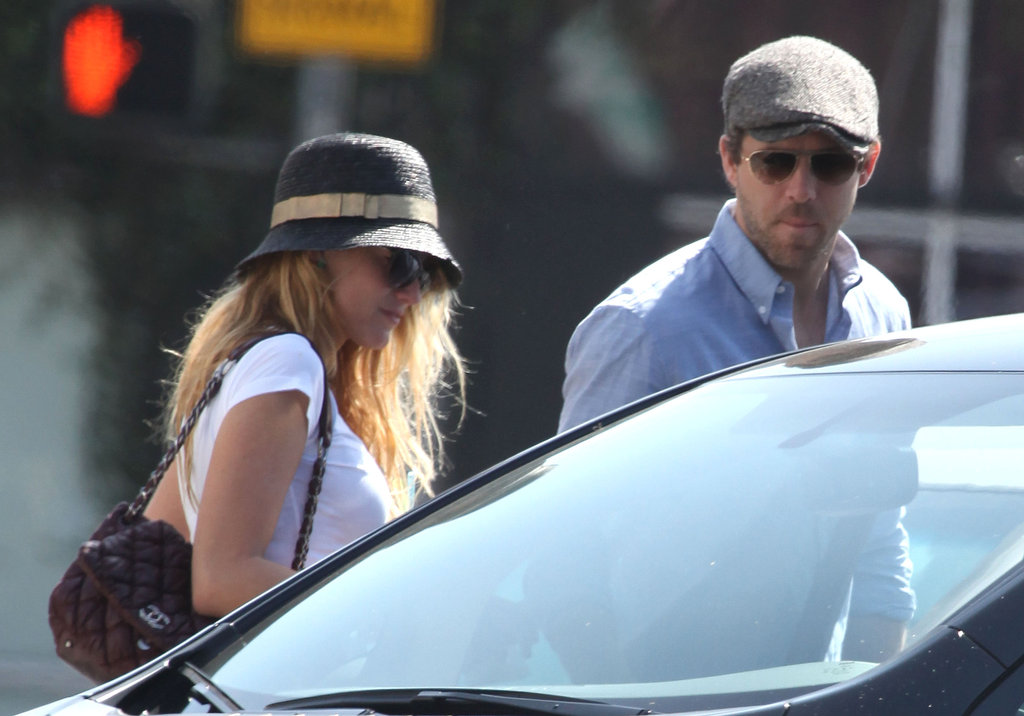 Blake Lively and Ryan Reynolds went for ice cream together in LA.
