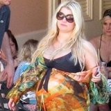 Jessica Simpson rocked a bathing suit.