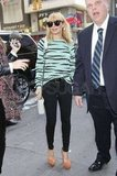 Nicole Richie paired Proenza Schouler with skinny jeans.