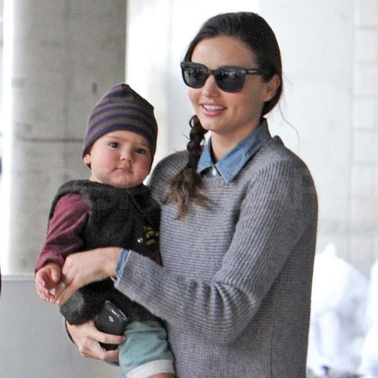 Miranda Kerr carried Flynn.