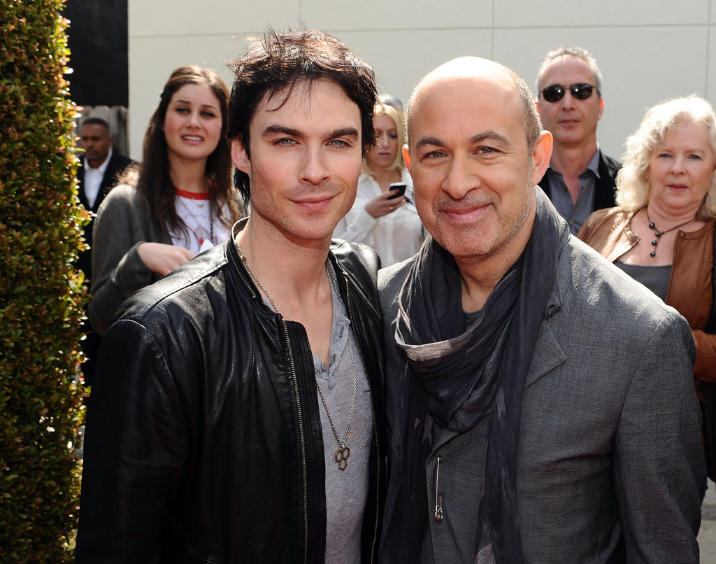 Ian Somerhalder and John Varvatos posed in LA.