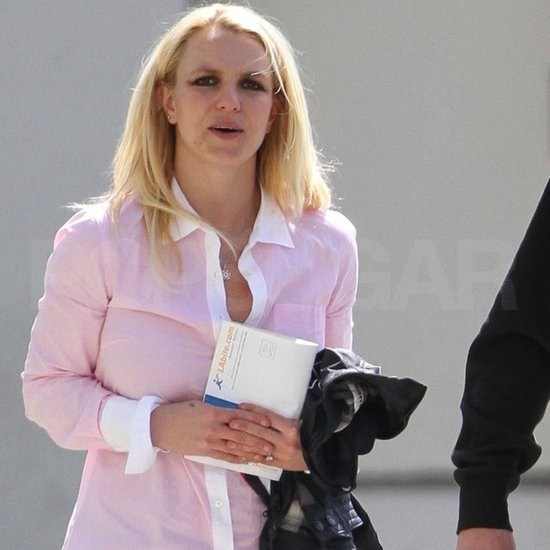 Britney Spears spent Sunday out in LA.