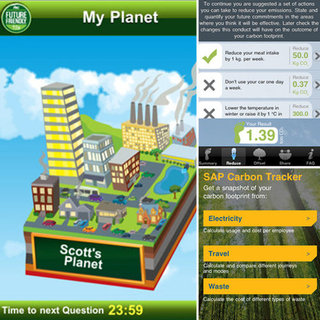 iPhone Apps For Carbon Footprint