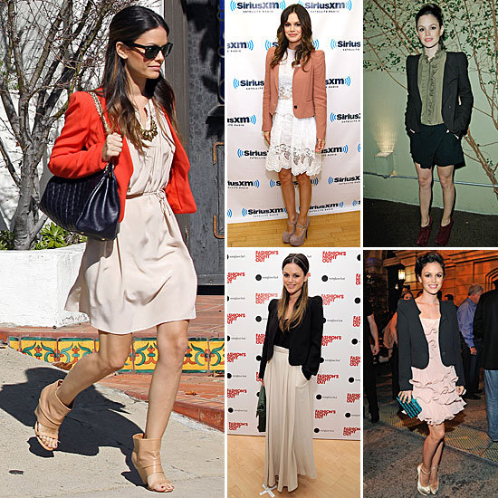 In Love With . . . Rachel Bilson's Vanessa Bruno Blazers