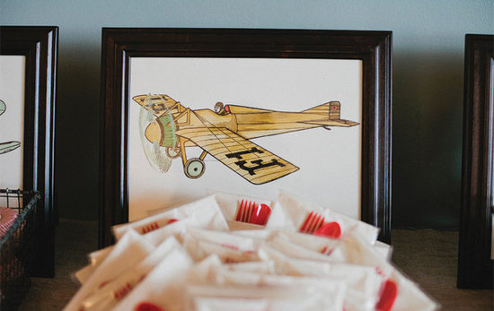 Vintage Airplane Prints