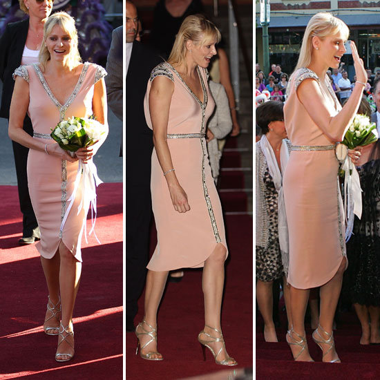 See Princess Charlene's Johanna Johnson Look From All Angles!