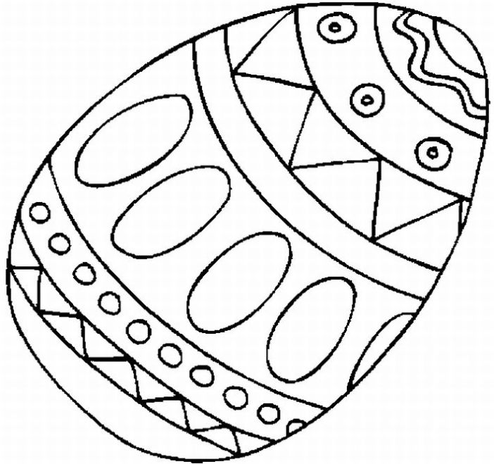 easter egg coloring pages become the one of the most thing when easter ...