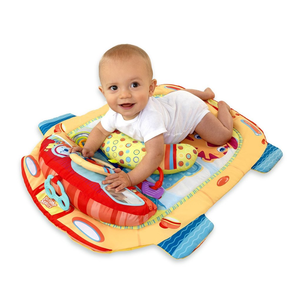 Bright Starts Tummy Cruiser Prop & Play Mat ($25)