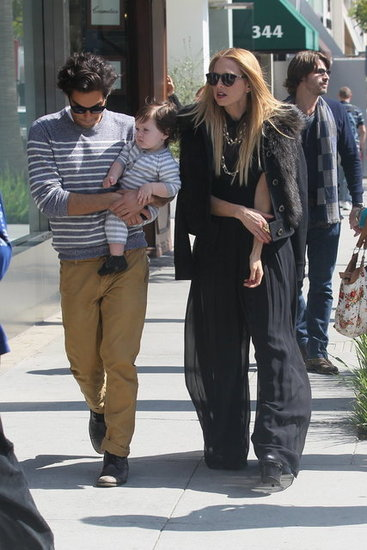 Rachel Zoe Shops With Her Guys and Gets an Applause From Skyler