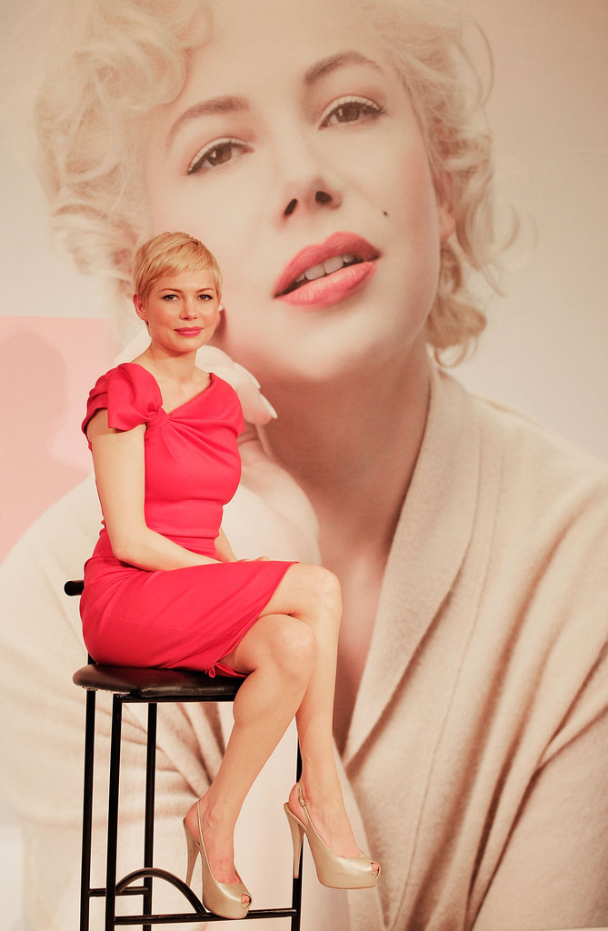 Michelle Williams chatted My Week With Marilyn.