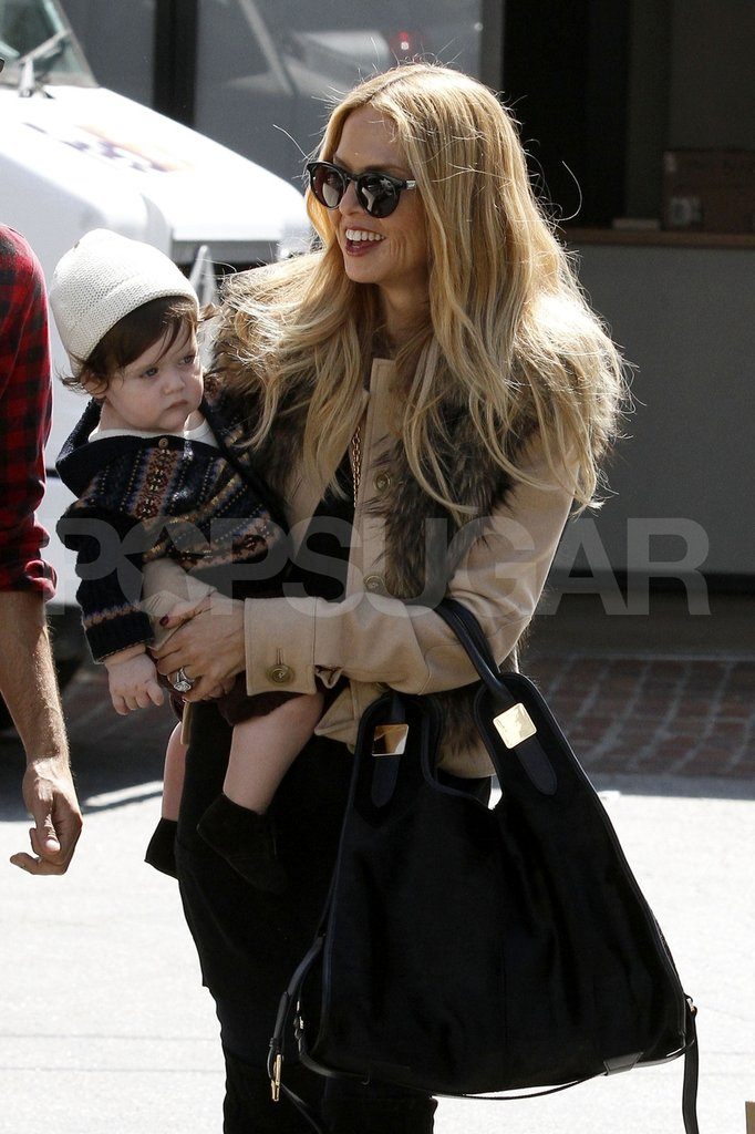 Rachel Zoe carried Skyler Berman