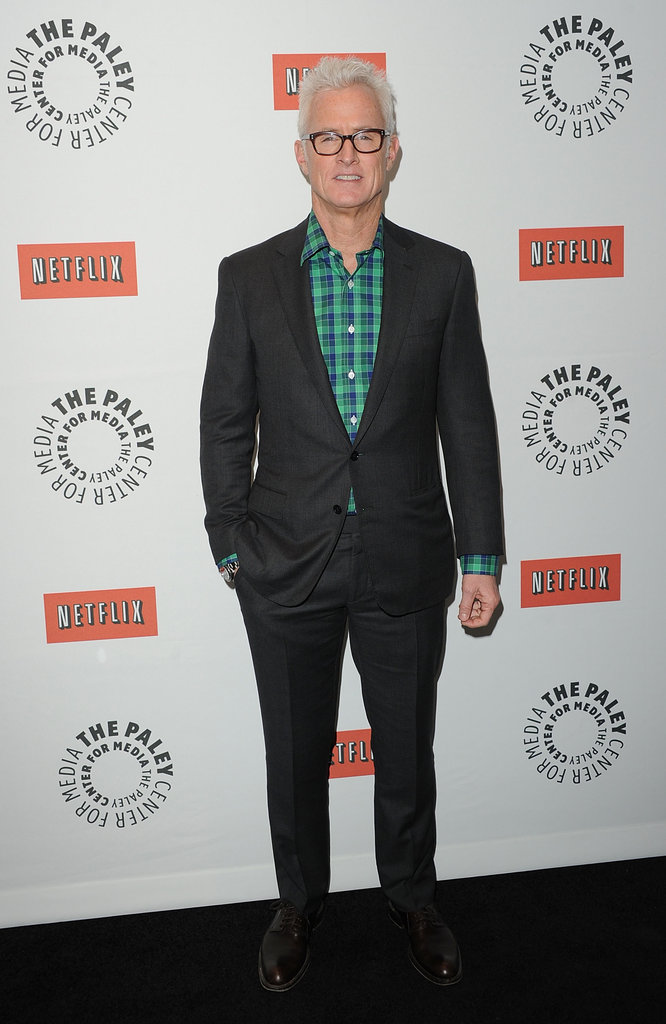 John Slattery attended the Mad Men PaleyFest panel.