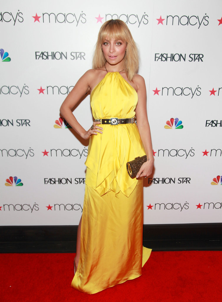 Nicole Richie Toasts Fashion Star's Debut With Elle and John