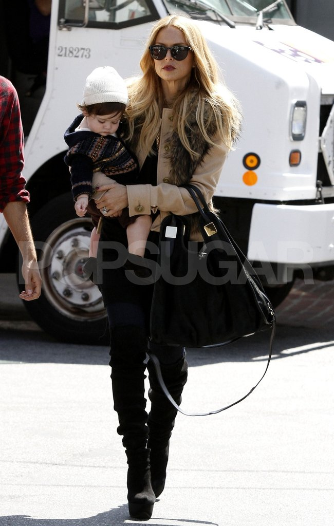 Rachel Zoe and Skyler Berman were too cute in LA.