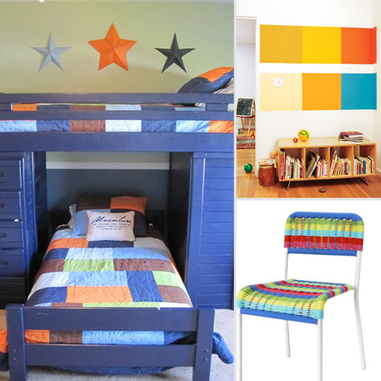 Trend Alert: Colorblocking For Kids' Rooms