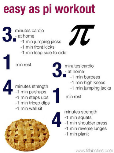 The Pi Day Workout- 3/14