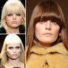 2012 Autumn/Winter Hair Trend: Full Fringes