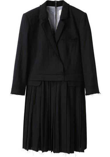 Boy by Band of Outsiders coat dress ($1,015), worn by Charlize.