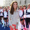 Kate Middleton Playing Hockey Pictures