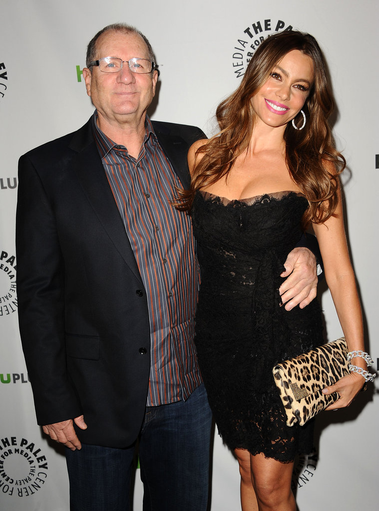 Ed O'Neill and Sofia Vergara at PaleyFest.