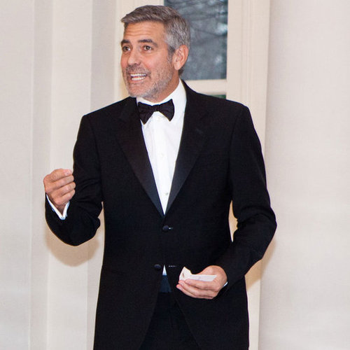 White House State Dinner Celebrity Pictures of George Clooney, John Legend, Chrissy Teigen and More