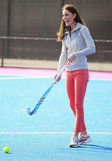 Kate Middleton Shows Her Sporty Side During an Olympic Park Appearance