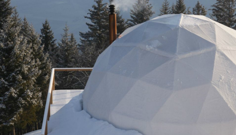 Whitepod Resort in Switzerland