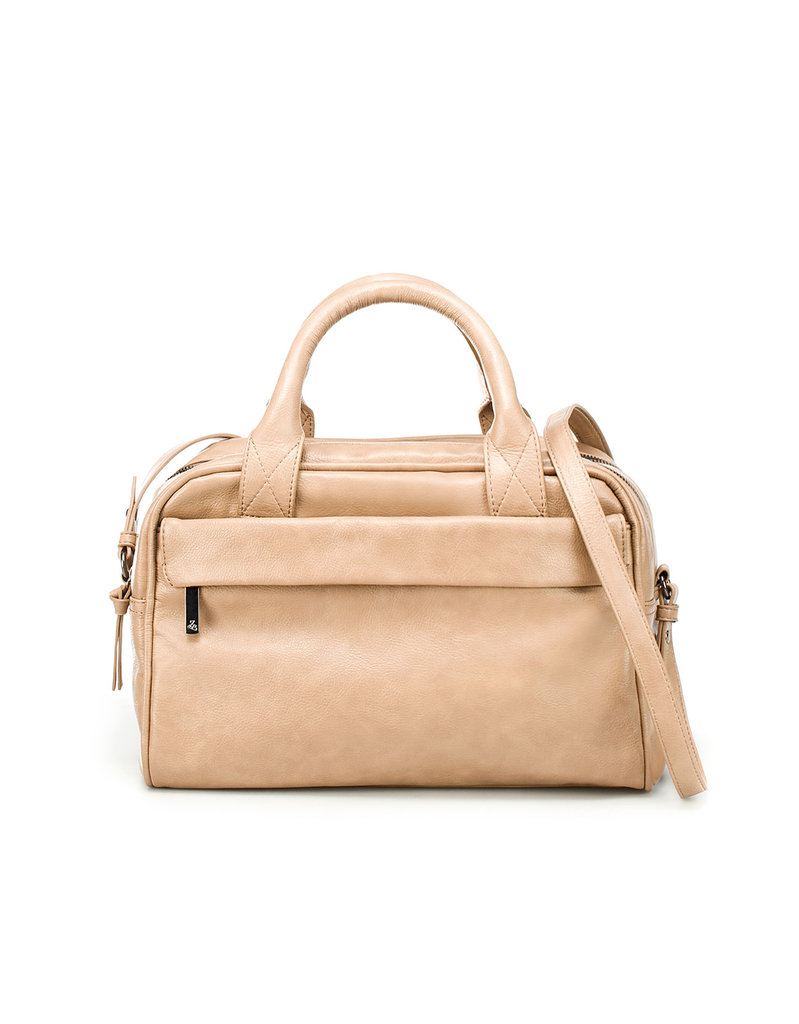 Zara Double Zip Bowling Bag ($80)